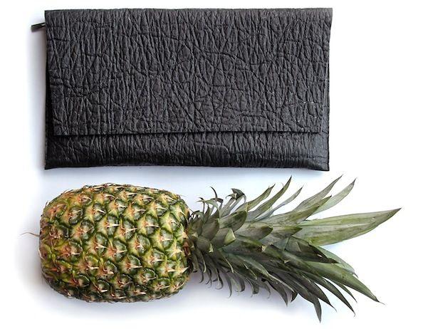 veganes leder ananas